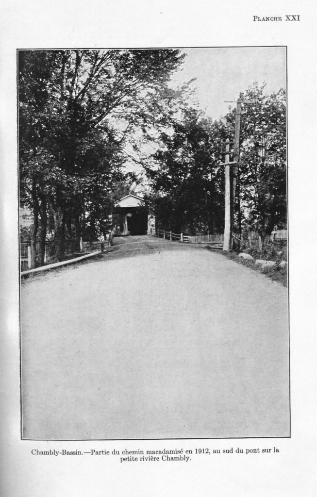PHOTO 5 61-12-02 chambly rapport du minitère des travaux publics 1912